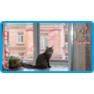 18,защитная сетка для кошек,антикошка киев