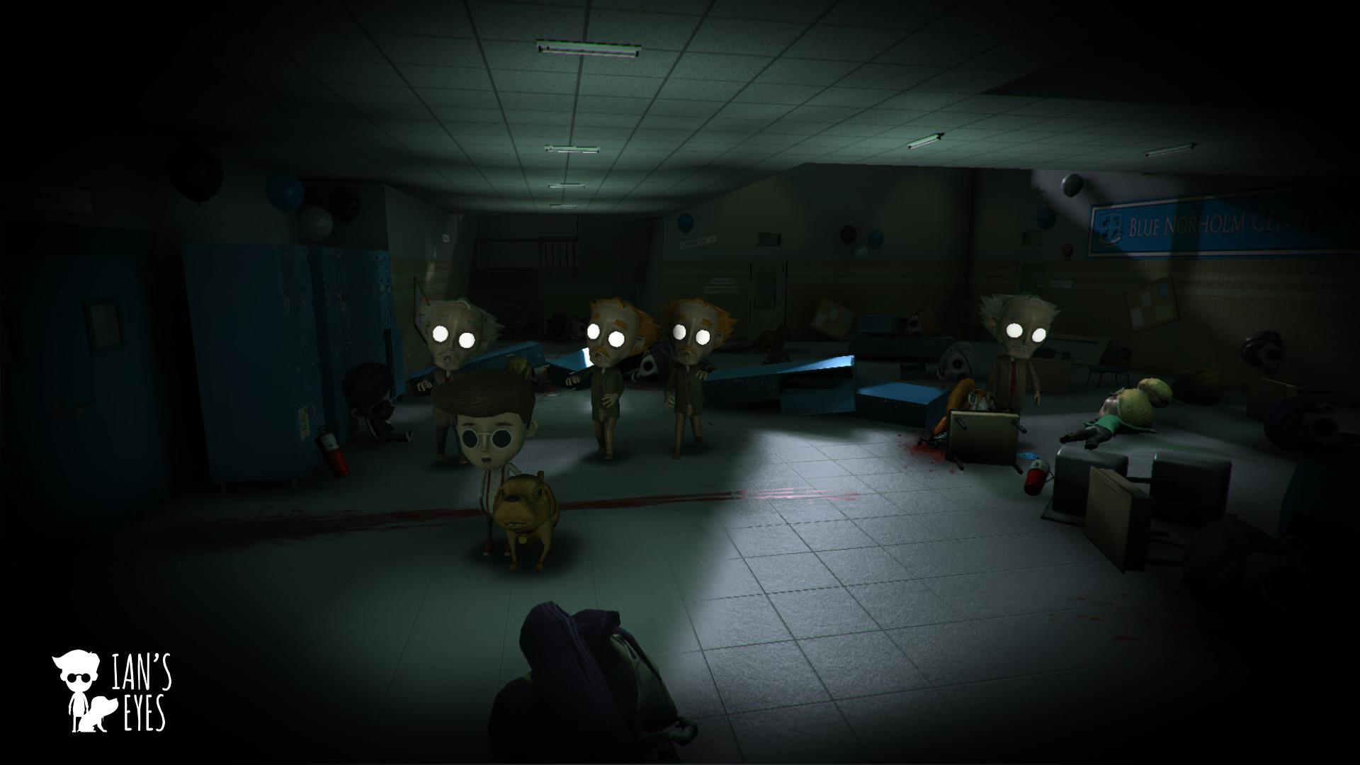 Халява: в Steam даром отдают инди-хоррор Ian's Eyes