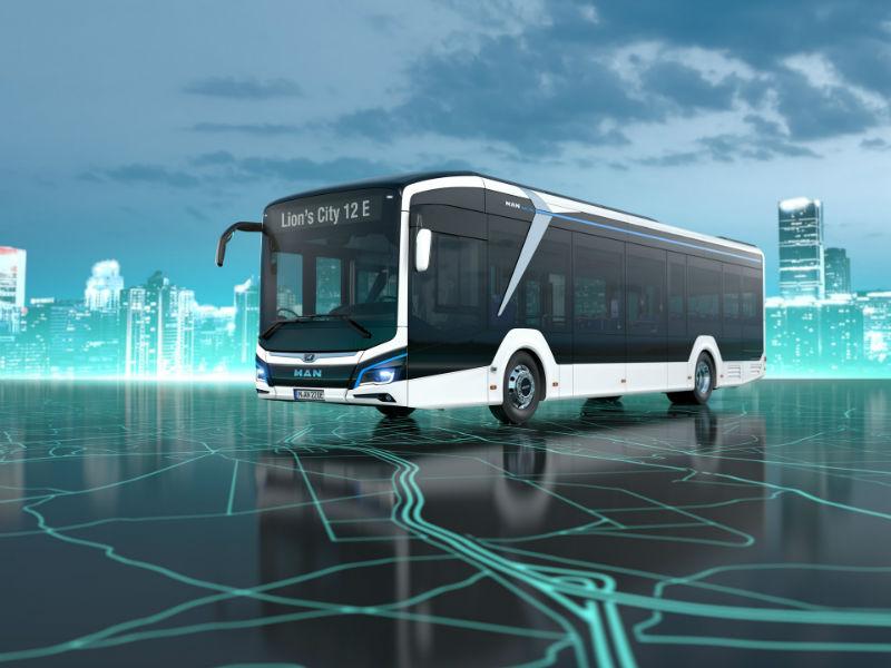 Электрический автобус MAN Lion's City E
