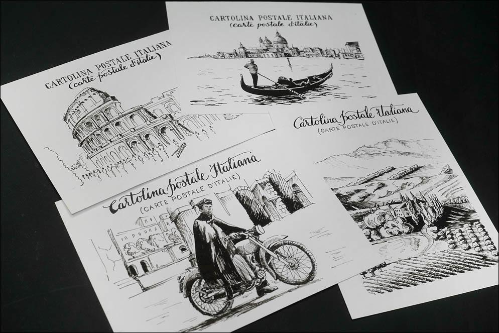 Cartolina Postale Italiana. Lenskiy.org