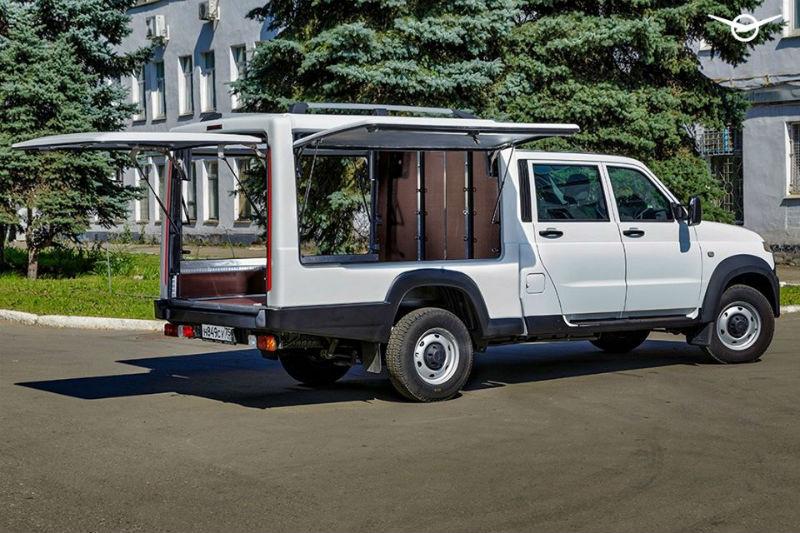 Фургон нового формата на базе УАЗ Профи
