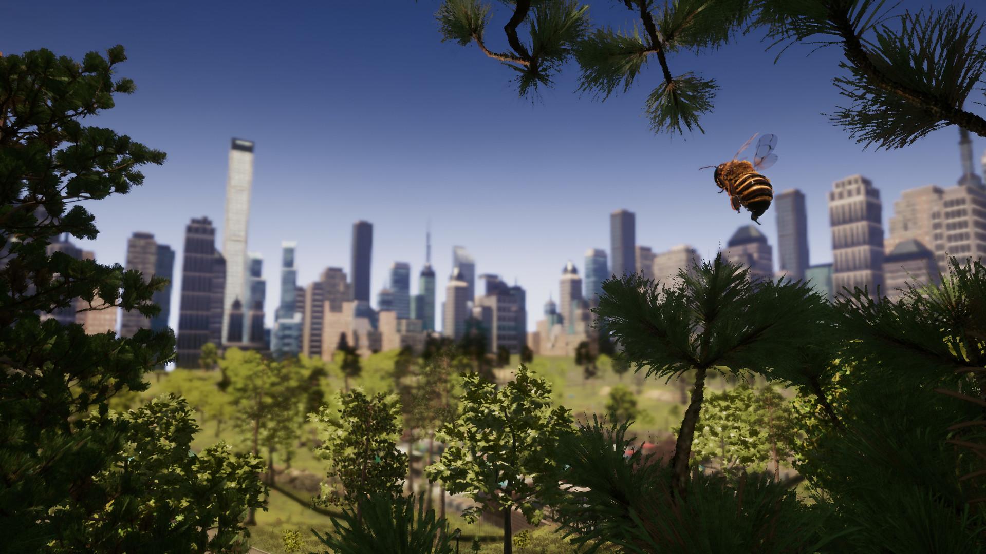 Вышел симулятор пчелы с мультиплеером и реалистичным окружением