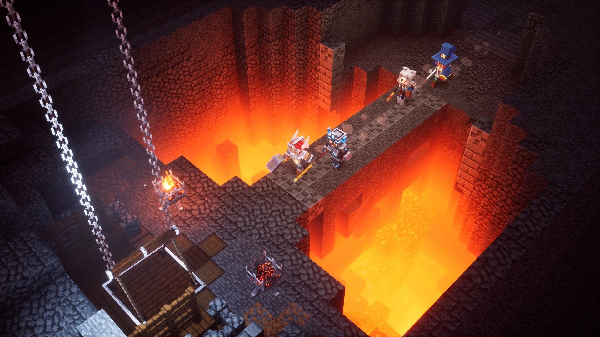 Minecraft: Dungeons выйдет в апреле 2020 года