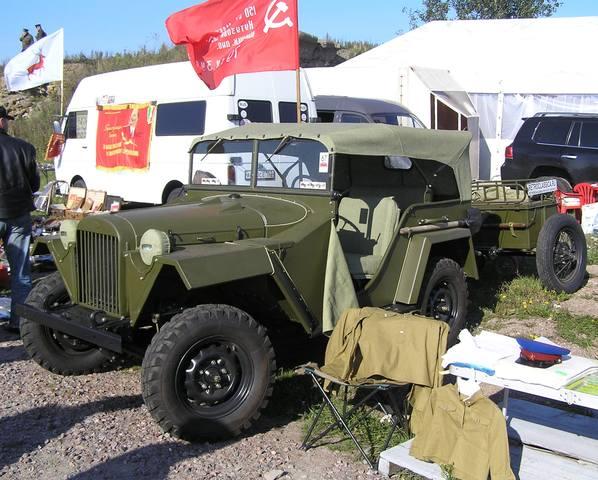 Легендарные советские автомобили №42 - ГАЗ-67Б