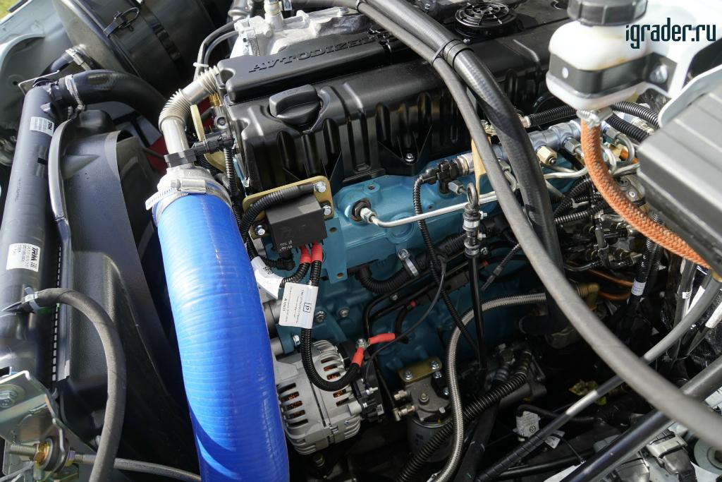 Под капотом «Садко Next» расположен ЯМЗ-534 мощностью 149 л. с.