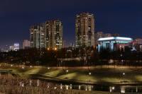 Здания и Парк Олимпийской деревни. Фото Морошкина В.В.