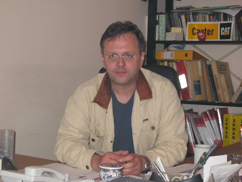 Сергей Анпилогов, коммерческий директор ООО «Торговый дом РА Машинери»