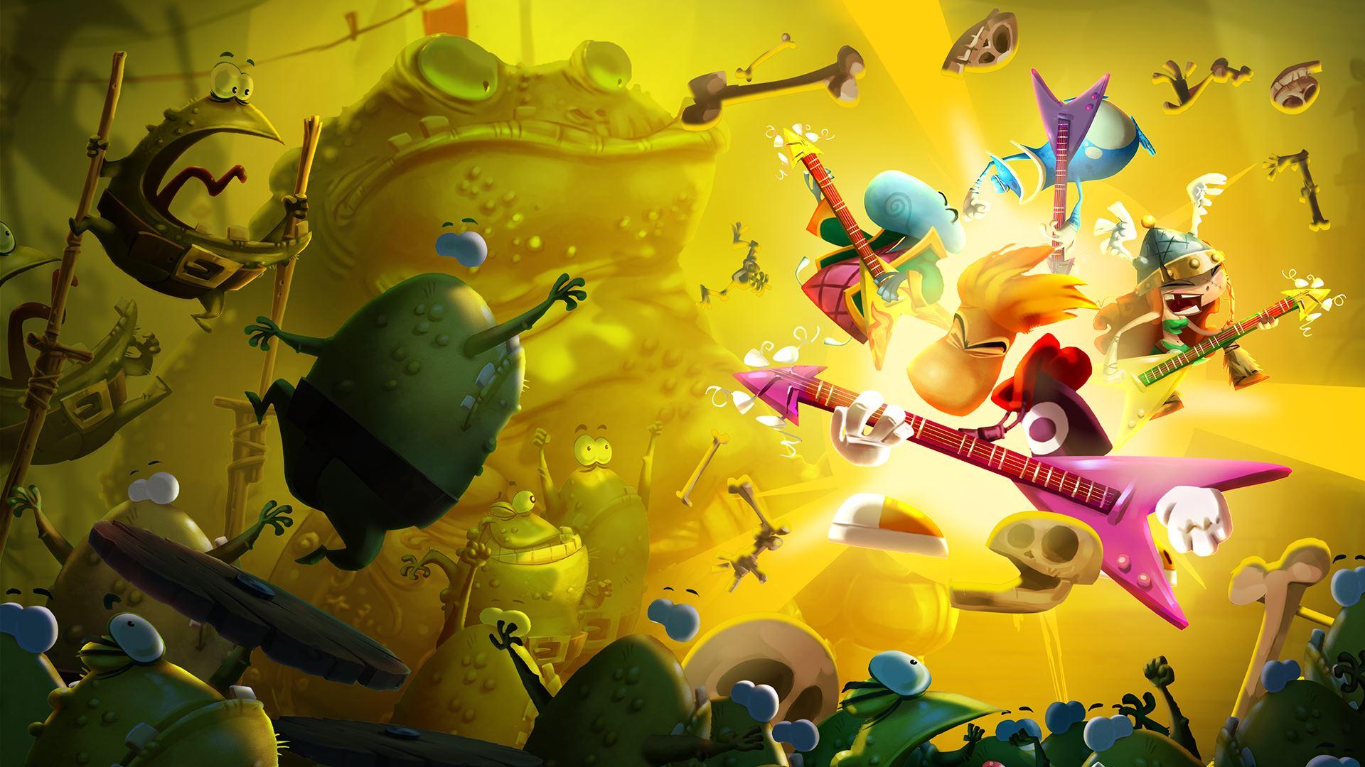 Халява: на PC бесплатно раздают Rayman Legends