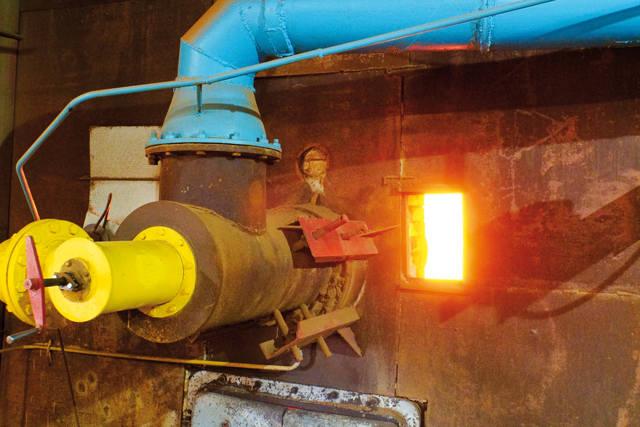 Печь — главное оборудование керамзитового завода — произведена на заводе «Строммашина»