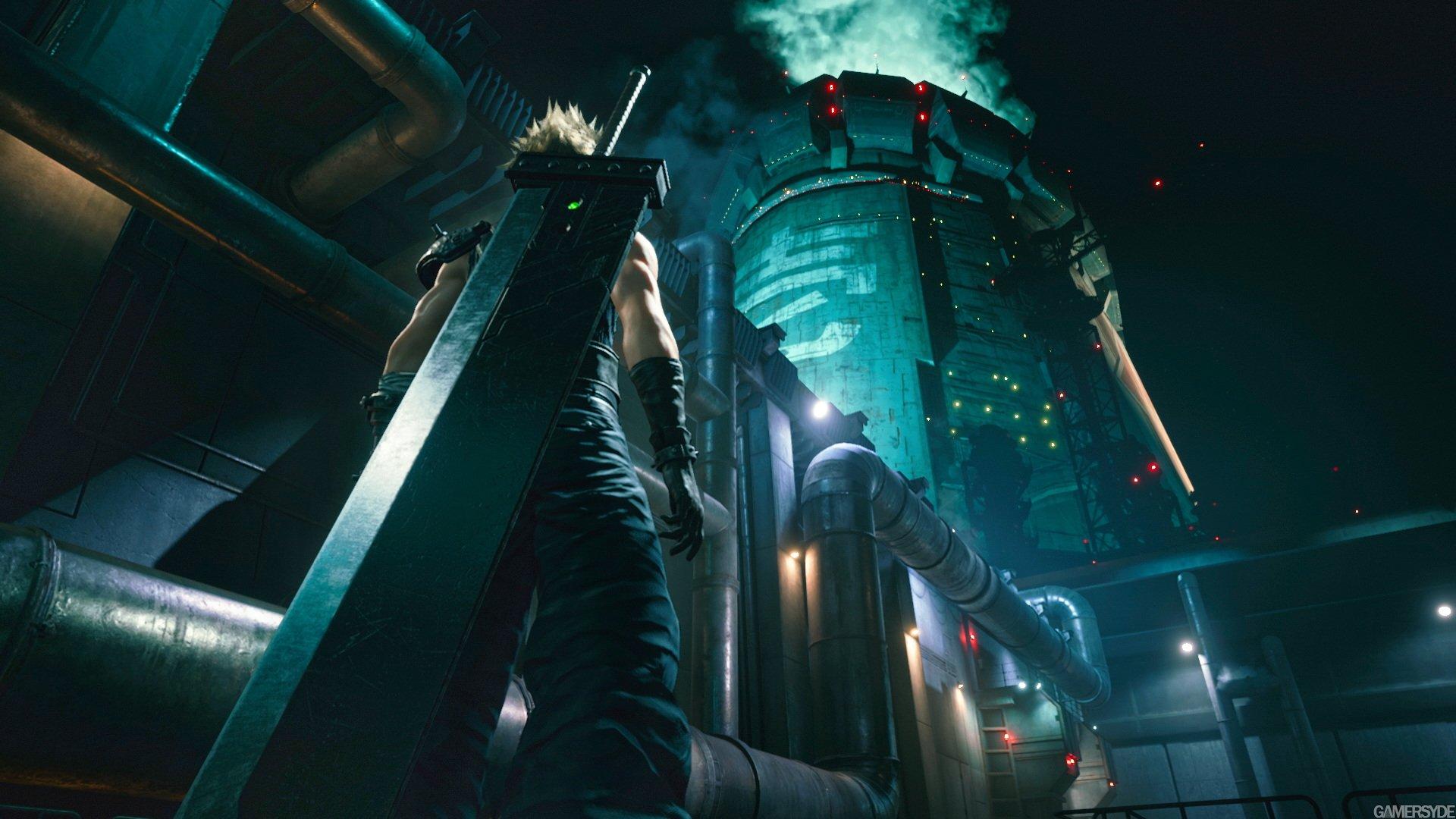 Появились официальные обои Final Fantasy VII Remake для PC и смартфонов