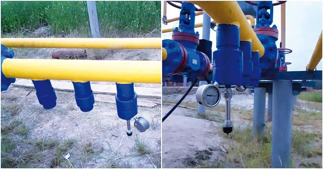 Мониторинг коррозии внутренней поверхности трубопровода