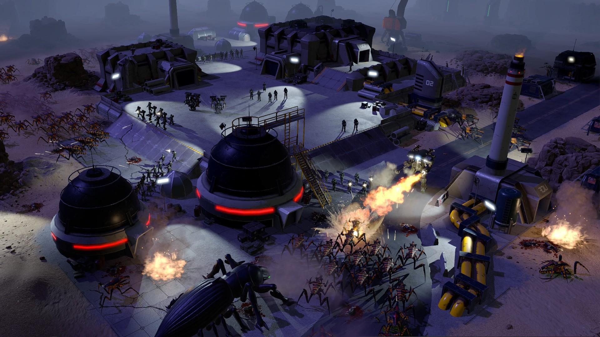 На PC анонсировали стратегию по культовому фильму «Звездный десант»