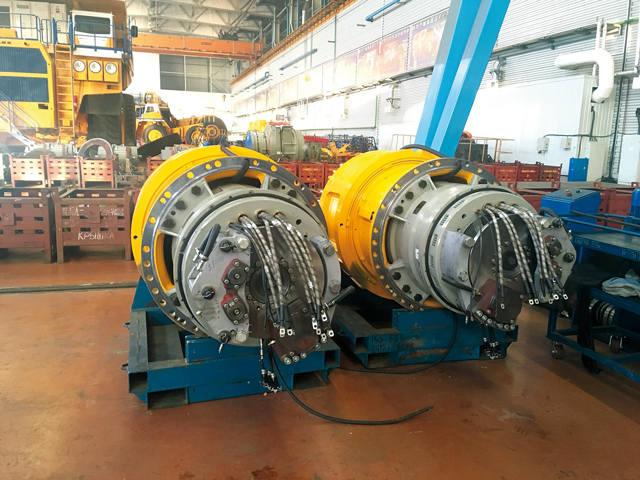 Синхронный тяговый генератор ГСТ-850