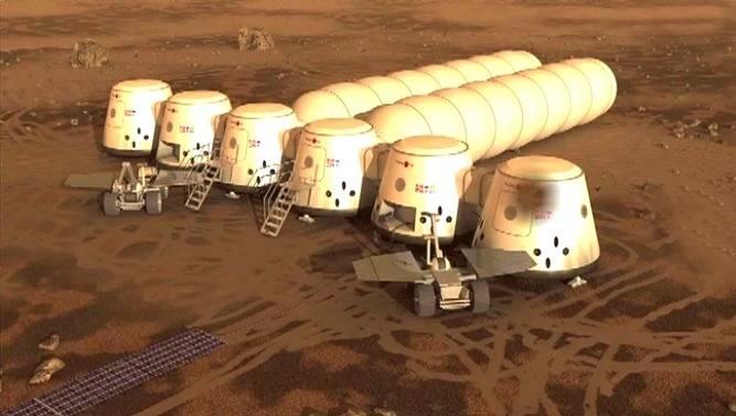 Космос, пилотируемый полет на планету Марс и т.д. 28803431