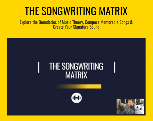 Hyperbits The Songwriting Matrix 2019 TUTORiAL