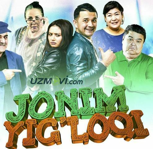 Jonim Yig'loqi yangi uzbek film