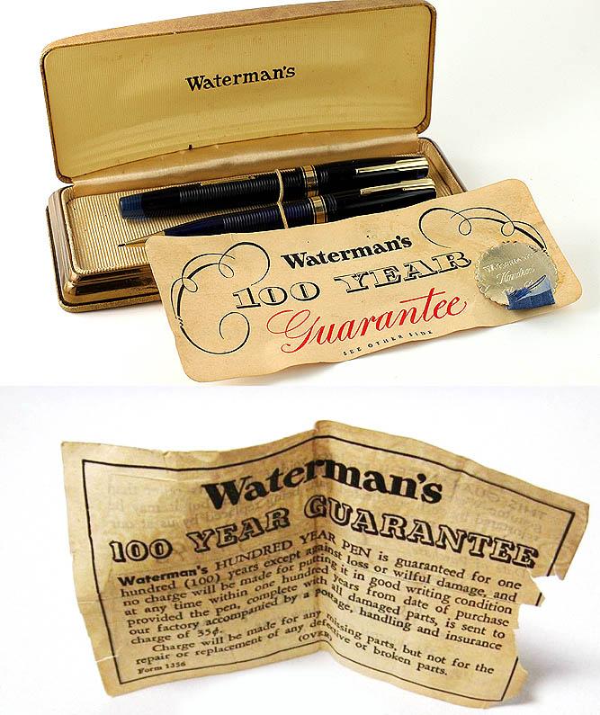 Waterman 100 Year. Lenskiy.org