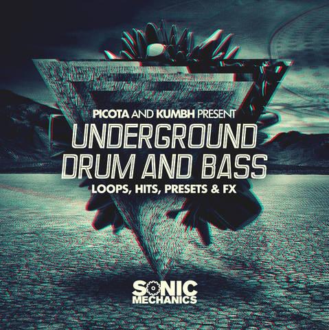 Sonic Mechanics - Picota & Kumbh Present Underground Drum And Bass (EXS24, HALION, KONTAKT, REX2, WAV)