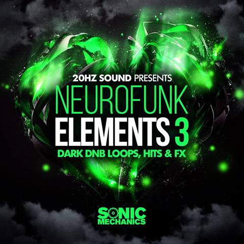 Sonic Mechanics - 20Hz Sound - Neurofunk Elements 3 (EXS24, HALION, KONTAKT, WAV)