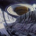Космическая фантастика в живописи советских художников