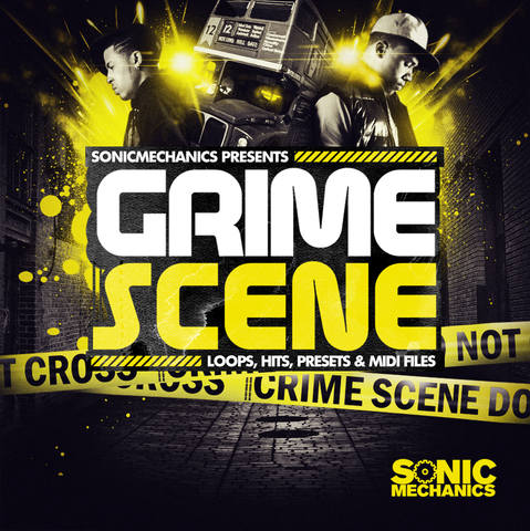 Sonic Mechanics - Grime Scene (EXS24, HALION, KONTAKT, MASSIVE, REX2, SF2, WAV)