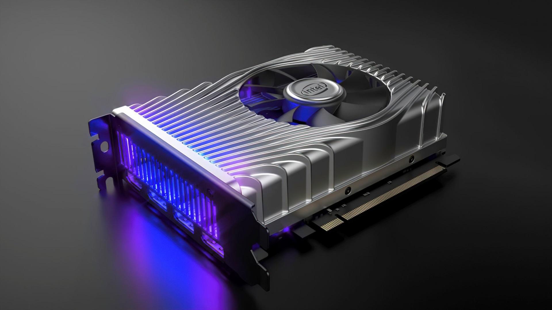 Intel показала дизайн своей первой дискретной видеокарты