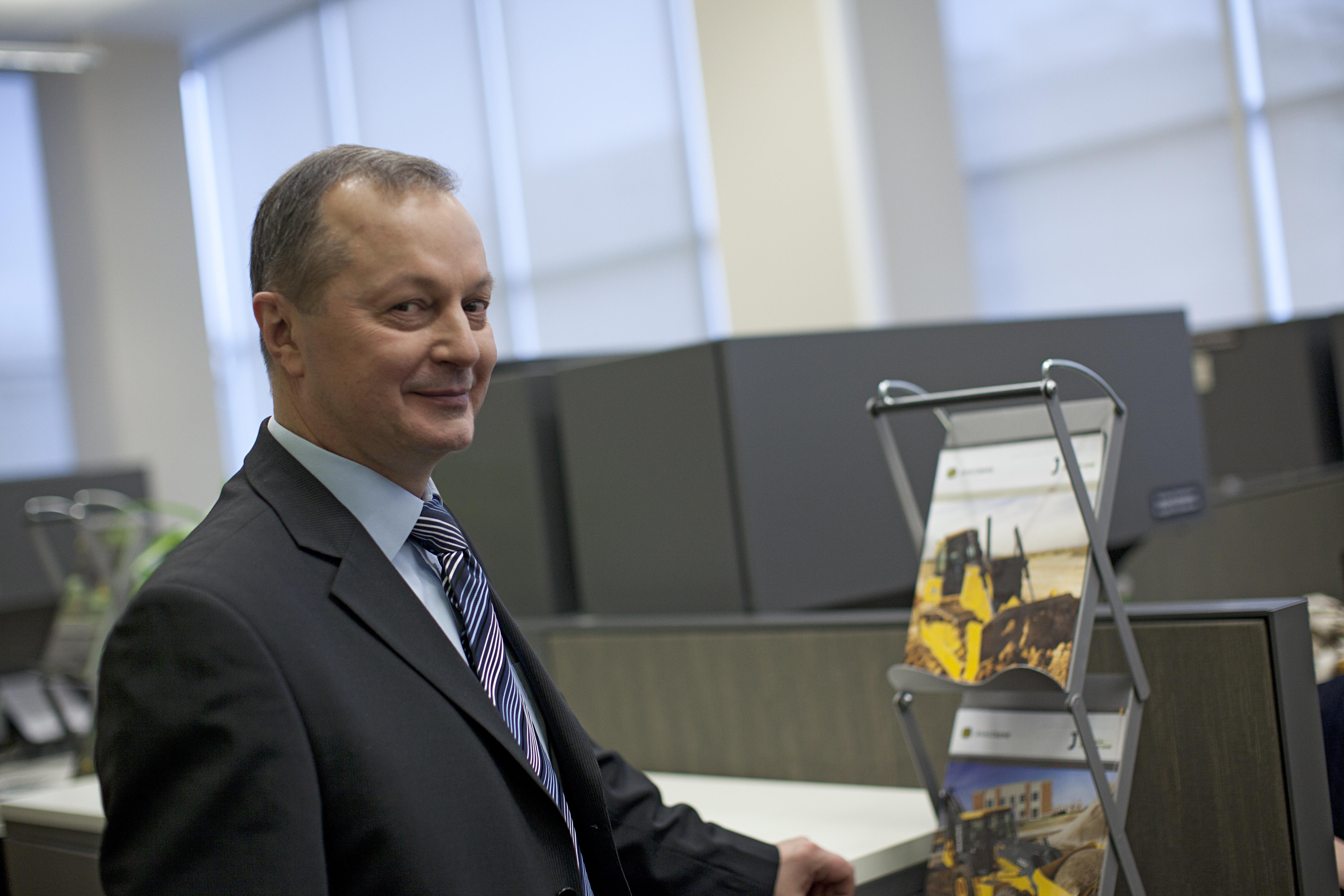 Алексей Шаронов, менеджер по поддержке продукции и клиентов John Deere в России и СНГ
