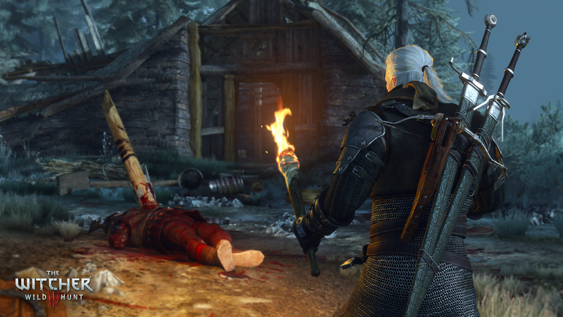 Моддер показал, насколько он улучшил графику в Witcher 3: Blood and Wine