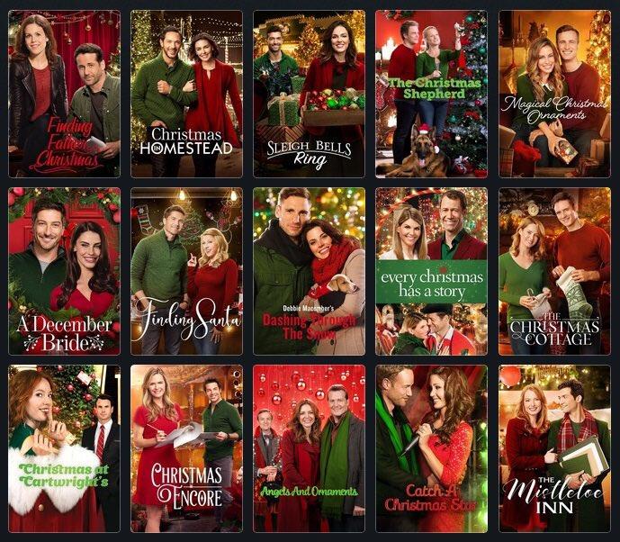 Рождественские пары в красно-зелёном