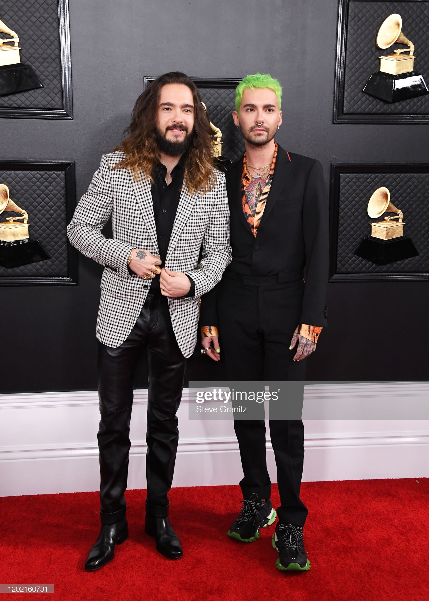 26.01.20 - Bill and Tom at Grammys, Red Carpet, Staples Centre, LA