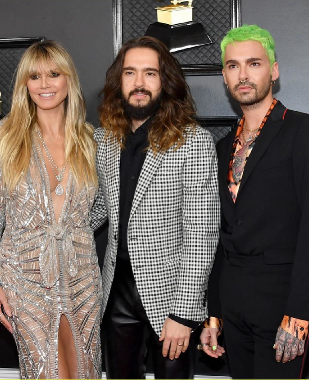 26.01.20 - Bill, Tom and Heidi at Grammys, Staples Centre, LA