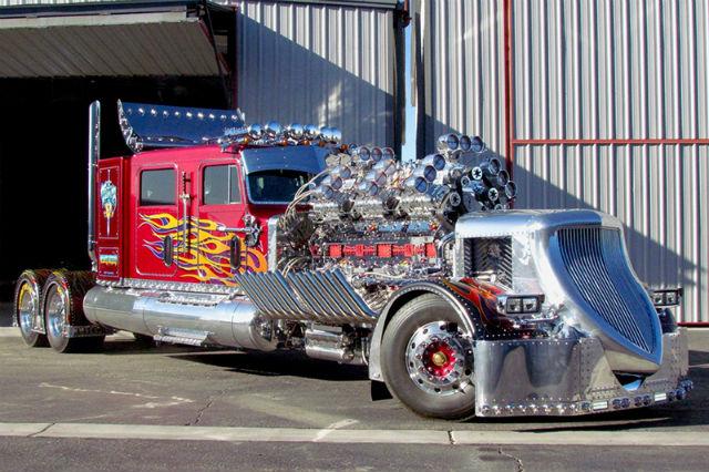 Грузовик Thor24. Самый дорогой грузовик. Топ-10 самых дорогих грузовиков