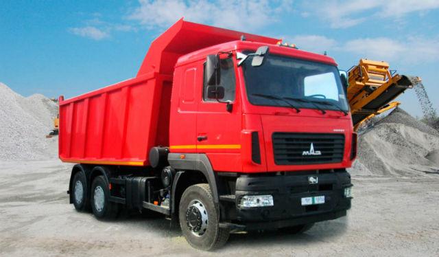 Самосвал МАЗ-6501С9-8520-005. Самые дорогие грузовики. ТОП-10 дорожных самосвалов
