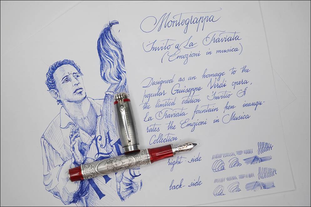 Montegrappa. Invito A La Traviata(anatomy). Lenskiy.org