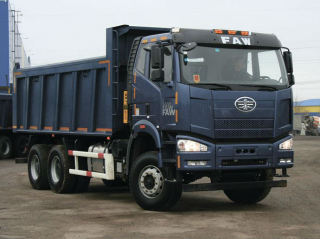 Самосвал FAW 3250. Самые дорогие грузовики. ТОП-10 дорожных самосвалов