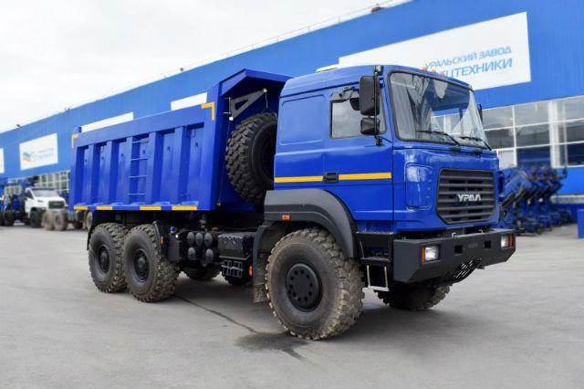 Самосвал Урал 6370К-0121-30Е5. Самые дорогие грузовики. ТОП-10 дорожных самосвалов