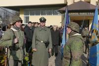 похороны ветерана СС в Ивано-Франковске