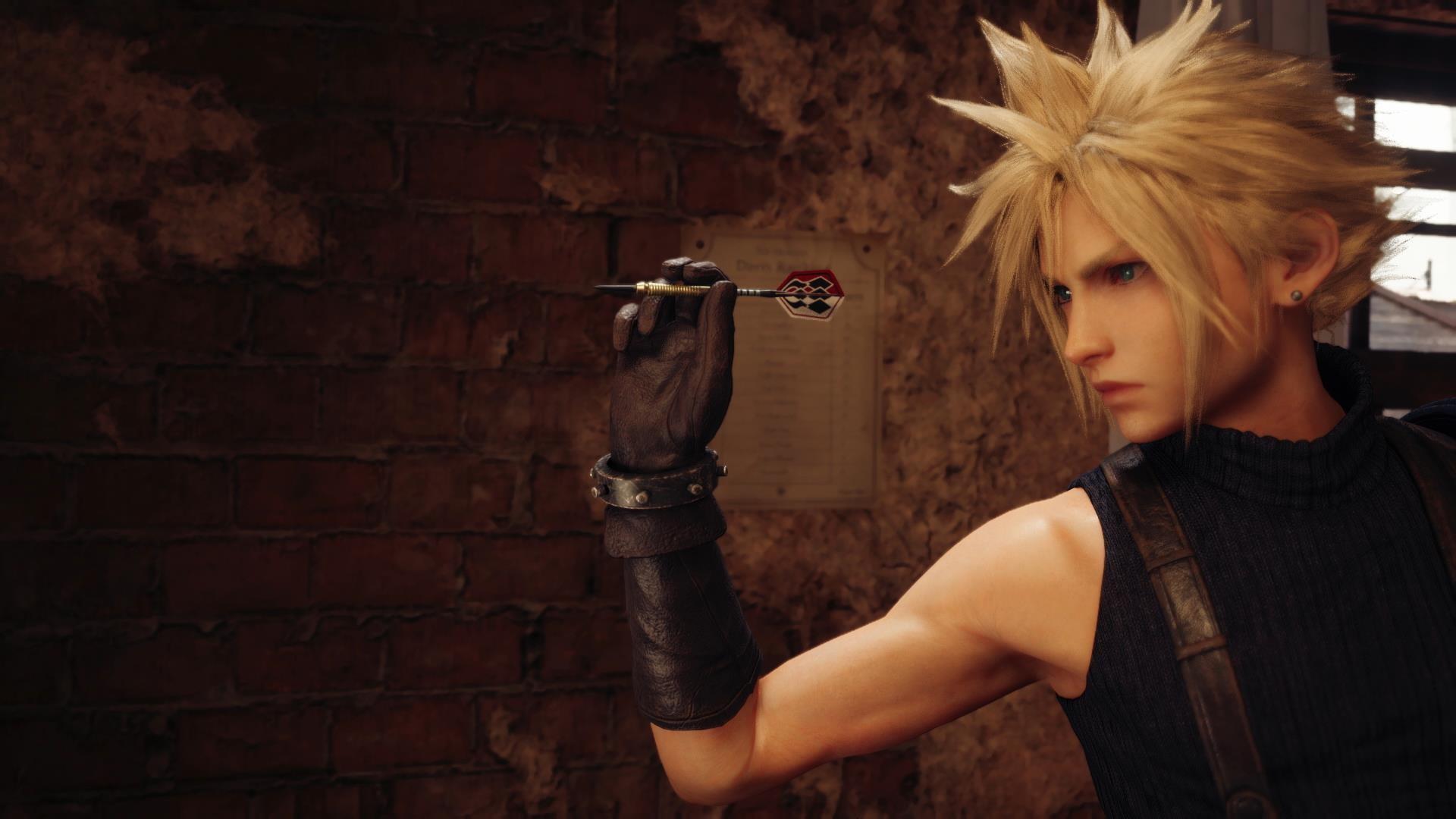 Клауд надел женское платье в новом трейлере Final Fantasy VII Remake