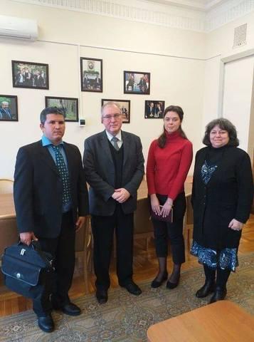 Кубинские дипломаты в Москве провели встречу с заместителем директора МИД России по Северной Америке
