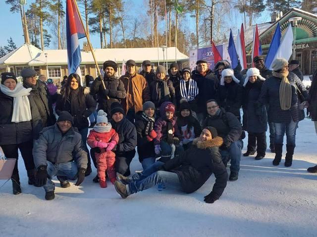 Посольство Кубы в Российской Федерации приняло участие в XX зимних дипломатических играх