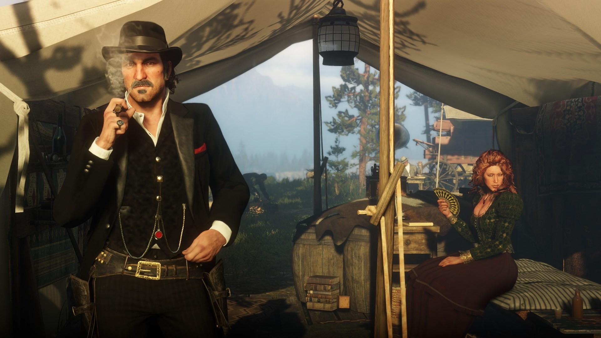 В Red Dead Redemption 2 добавили секс с проститутками