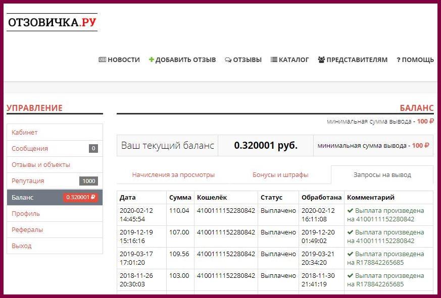 Отзовичка.ру - 100% настоящие отзывы о товарах и услугах