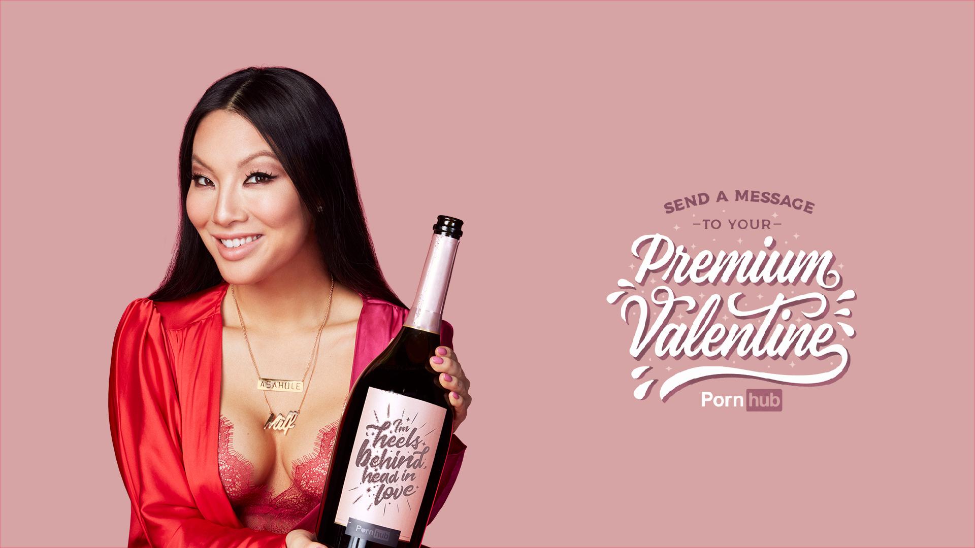 Порнозвезды с Pornhub предлагают персональные ролики ко Дню всех влюбленных +18