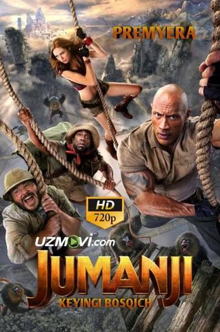 Jumanji 3: Keyingi bosqich Premyera original Uzbek tilida