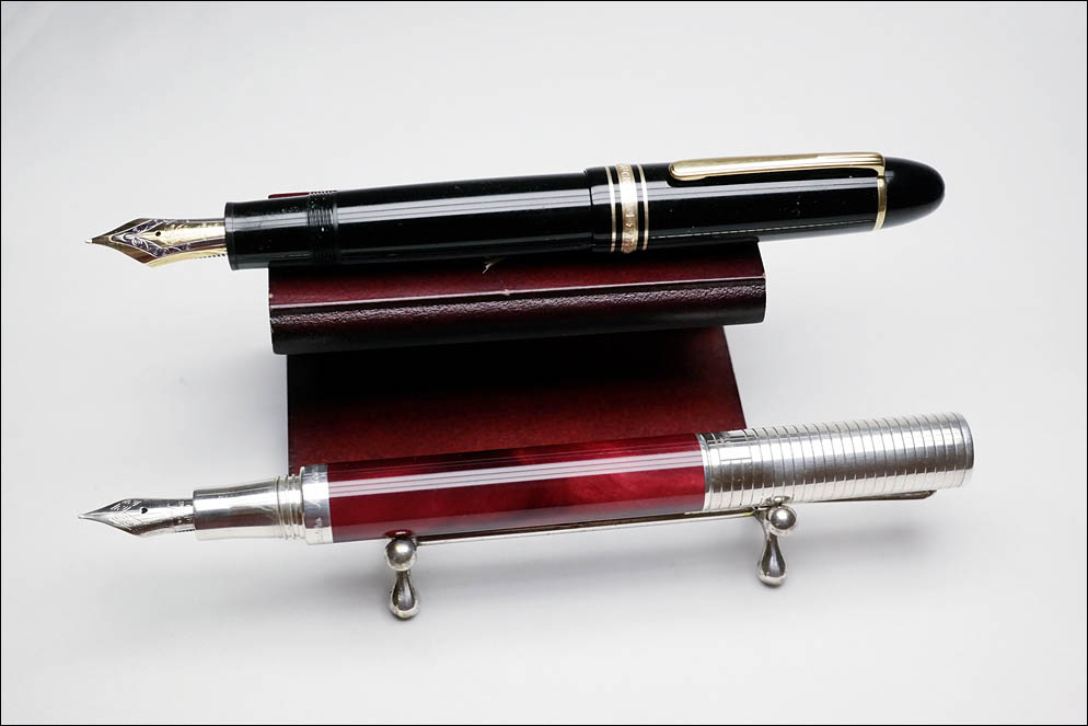Montblanc Meisterstuck 149 vs Montegrappa Espressionne Duetto. Lenskiy.org