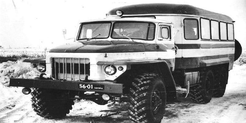 КАвЗ-49471 на базе шасси Урал-375К