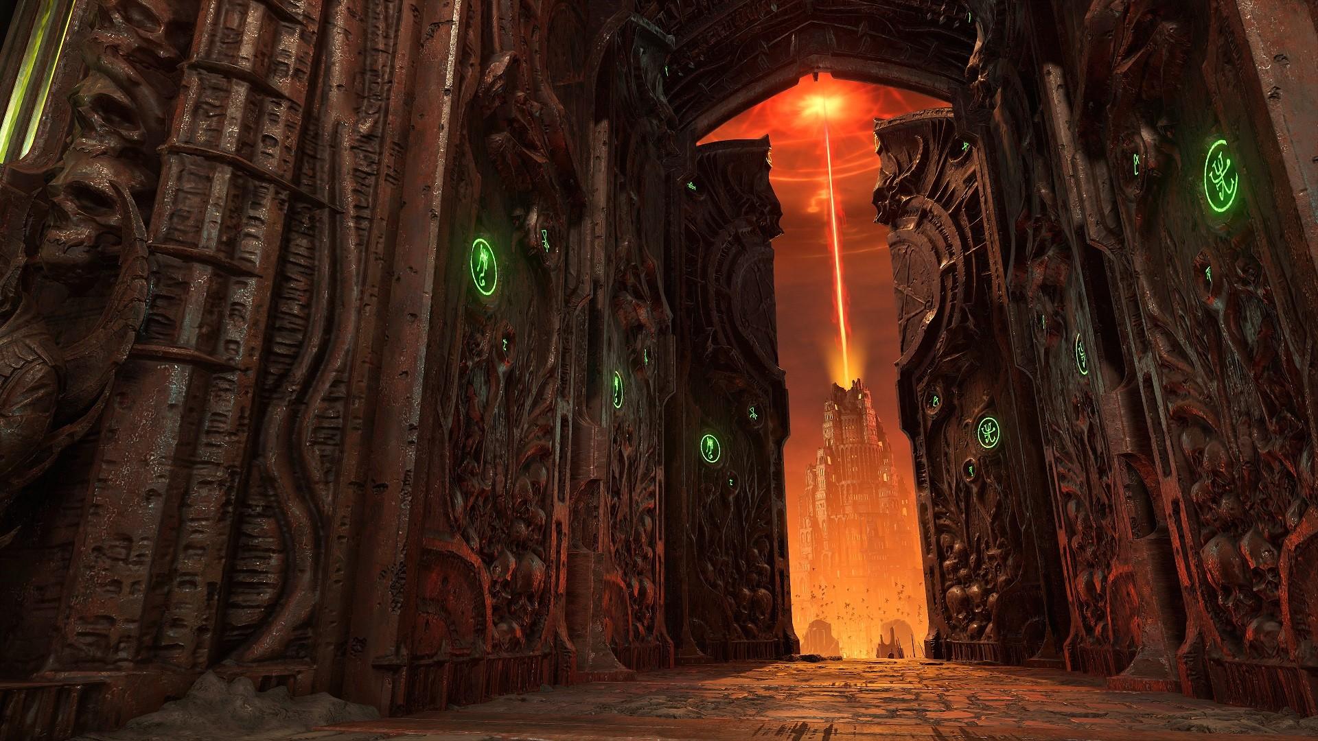 Гайд: Где найти все секреты в Doom Eternal в первом задании «Ад на земле»