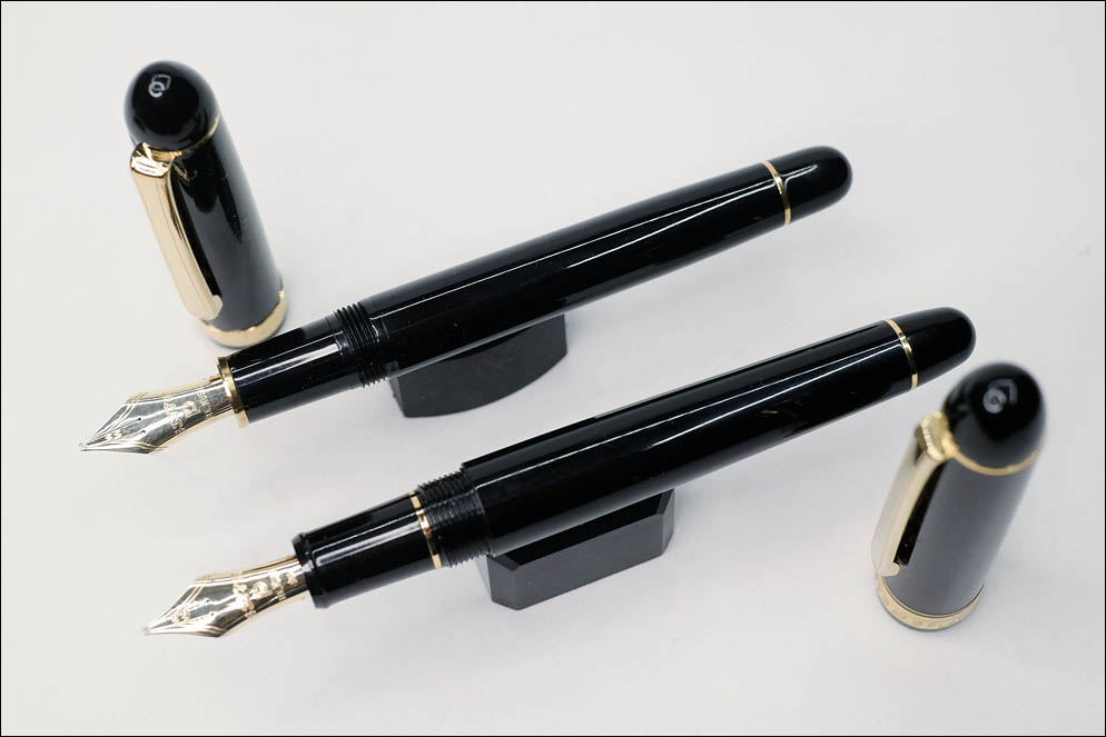 Platinum PTB-10000 vs PNB-10000 with Music nib. Lenskiy.org