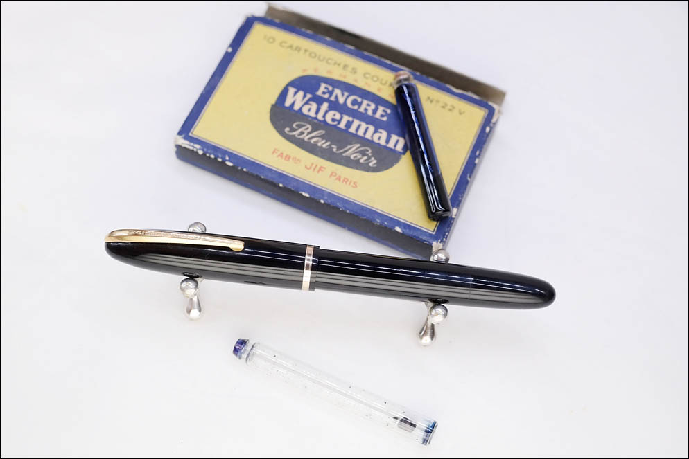 Waterman's 1945-1953 glass cartriges. Lenskiy.org