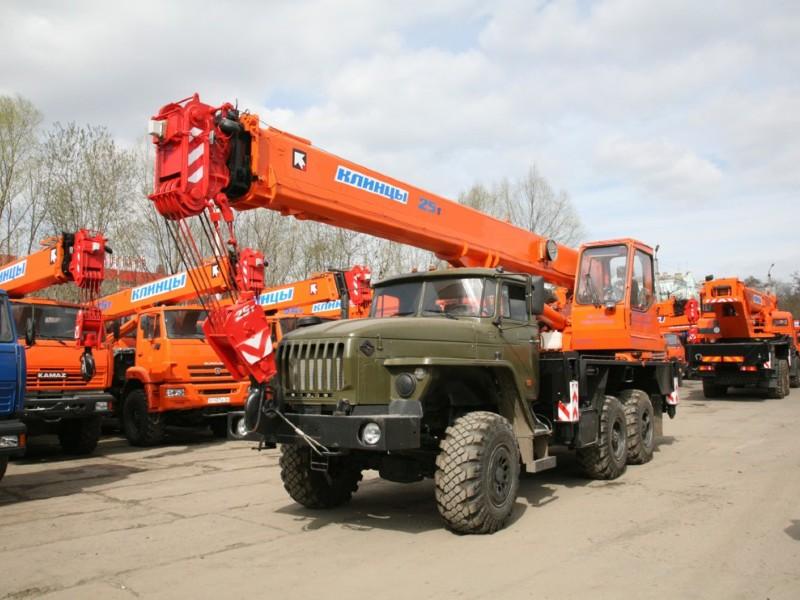 Автокран КС-55713-3К-1